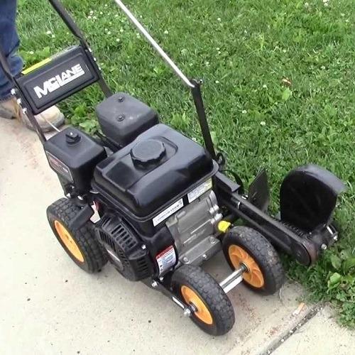 Using a Gas Powered Lawn Edger